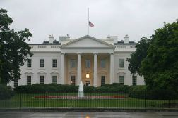 Image result for white house flag at half mast