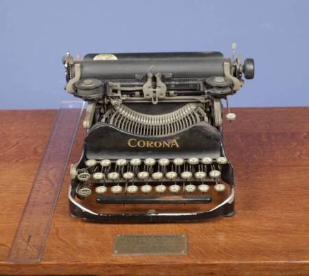 Mencken's Corona Typewriter, Enoch Pratt Library