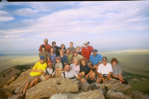 philmont-2005-crew-1-on-top-of-tooth-of-time-kp003_03.JPG