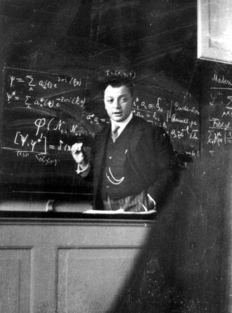 Wolfgang Pauli, before 1945 - Nobel Foundation photo