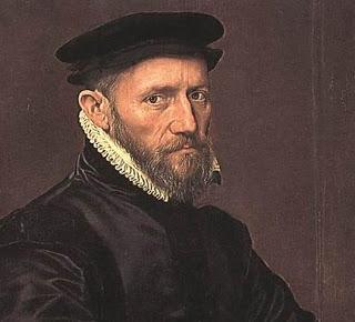 Sir Thomas Gresham (c. 1519 – 21 November 1579), British financier and advisor to Queen Elizabeth I and earlier regents. Portrait c. 1554 by Anthonis Mor