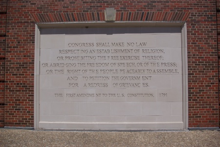 The First Amendment, at SMU