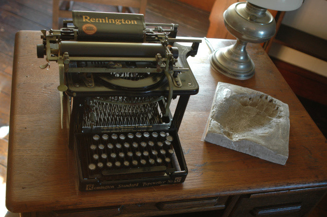 Theodore Roosevelts typewriter from his home at Sagamore Hill - Fish and Wildlife Service, National Digital Image Library