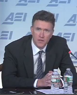Roger Bate in his high-salaried position as a propagandist for AEI.