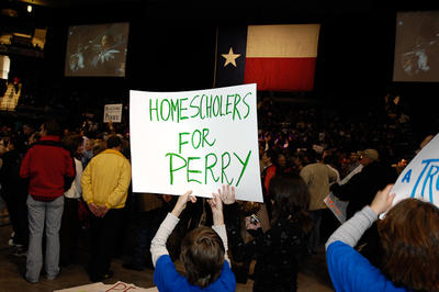 Rick Perry Rally with Sarah Palin, HoustonPress.com