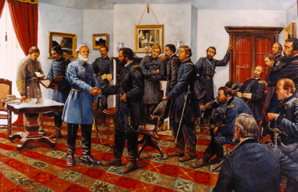 The Surrender, by Keith Rocco - image from National Park Service