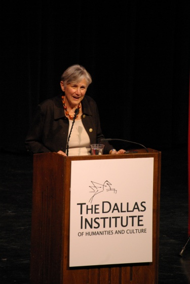 Dr. Diane Ravitch discussed education reform's problems in Dallas, in April 2010.  Photo by Ed Darrell