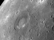 Rachmaninoff crater on Mercury - NASA photo