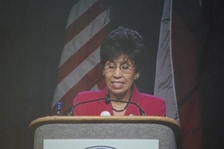 Democratic candidate for Lieutenant Gov. Linda Chavez-Thompson