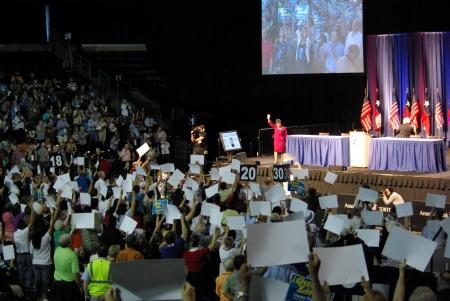 Linda Chavez-Thompson wowed the 2010 Texas Democratic Convention - IMGP4286