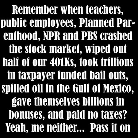 When teachers and NPR crashed the stock market