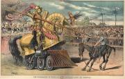 Cartoon - Labor vs Monopoly, Graetz, Puck 8-1-1883 (GSU image)
