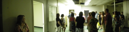 6th Floor Museum Seminar - teachers in the Dallas Police Station, at Oswald's interrogation room