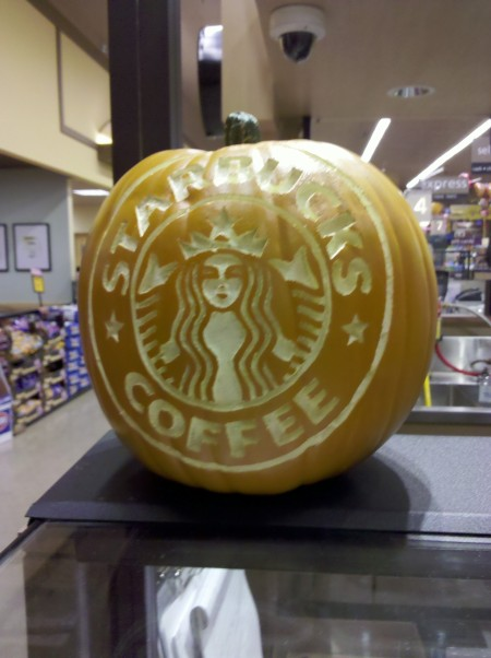 Caffeinated Mermaid o'lantern in Duncanville, Texas - IMG_20101010_193804 photo by Ed Darrell