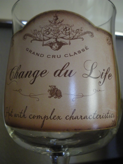 Change du Life wine glass - IMGP2637 Photo by Ed Darrell, Creative Commons
