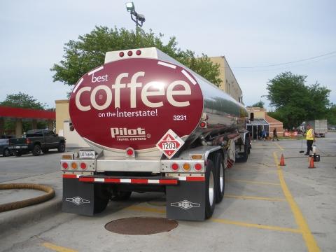 Pilot Truck Stops' coffee truck