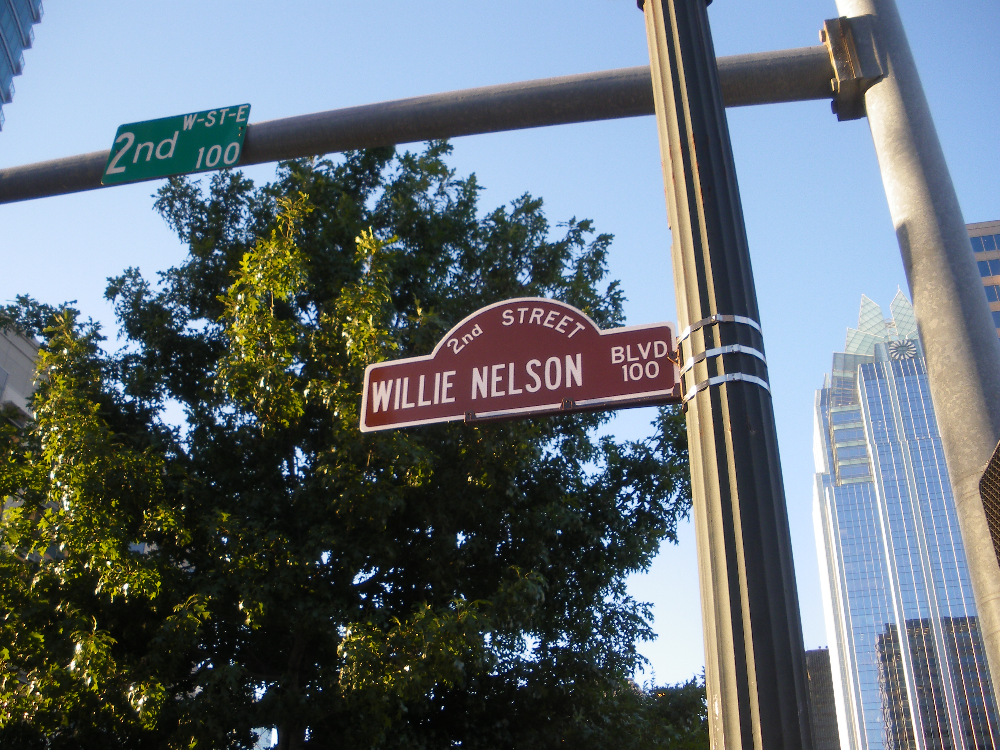 Willie Nelson Blvd, Austin, Texas - IMGP2228 photo by Ed Darrell (please attribute)