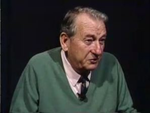 Mr. Mel Mermelstein, in 1993, recording an oral history for the US Holocaust Memorial  Museum