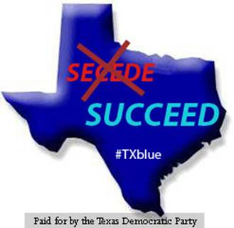 Texas Democratic Party response to secession talk