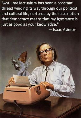 Painting of Isaac Asimov creating at a typewriter, an early IBM Selectric. Who did the painting?