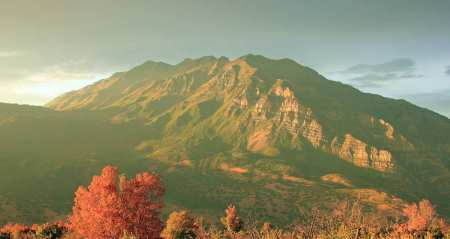 Timpanogos from the east - replacement for photo that originally nested here. Utah.com image