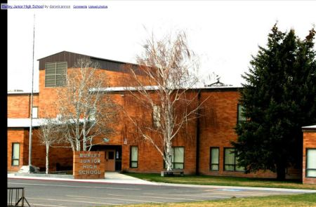 Junior High School in Burley, Idaho