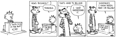Bill Watterson returned to the