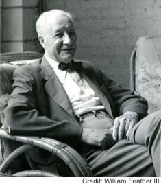 Publisher and writer William Feather, photo by William Feather III
