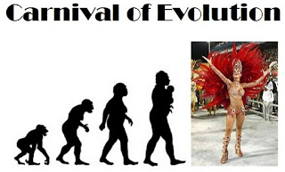 Evolution of the Carnival? No, Carnival of Evolution!  (Image from Carnival of Evolution #62 at Ecology and Evolution Footnotes)