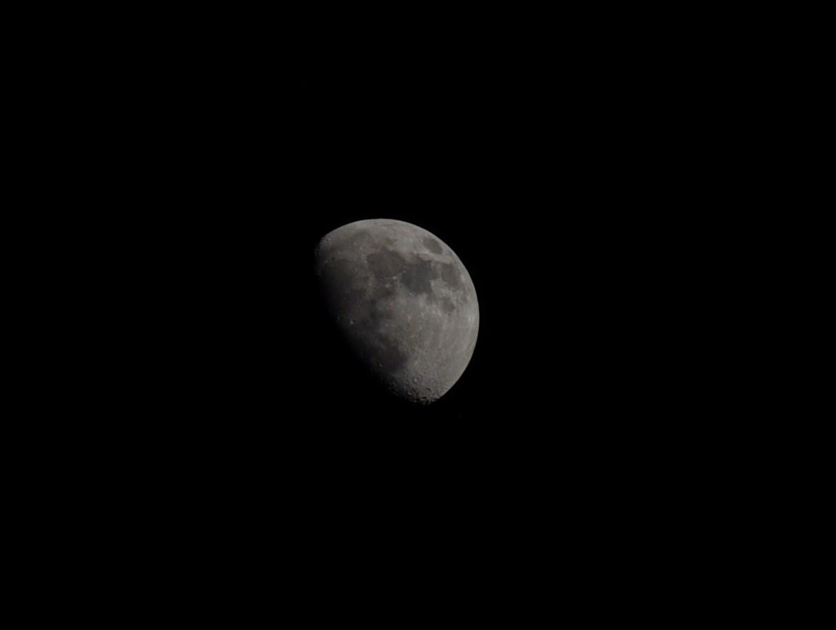 Dallas Moon, June 7, 2014