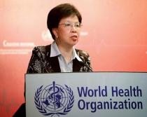 Canadian-educated, Dr. Margaret Chan of the Peoples Republic of China heads the World Health Organization.