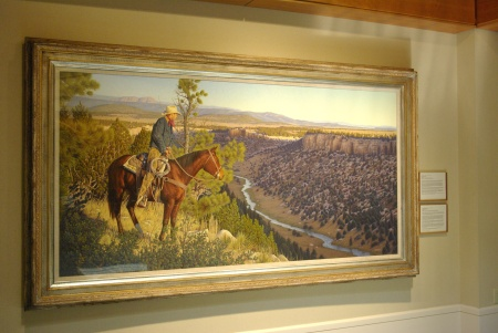 Simple Pleasures of New Mexico, acrylic by Gary Morton, 1992