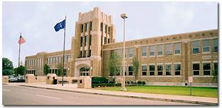 John Adams High School, a public school in South Bend, Indiana.