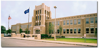 John Adams High School, a public school in South Bend, Indiana.