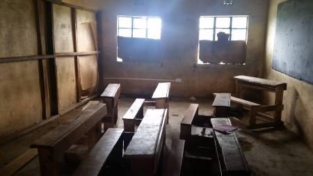 Tenkees School, in the Mau region of Kenya. Photo by Heidi Totten