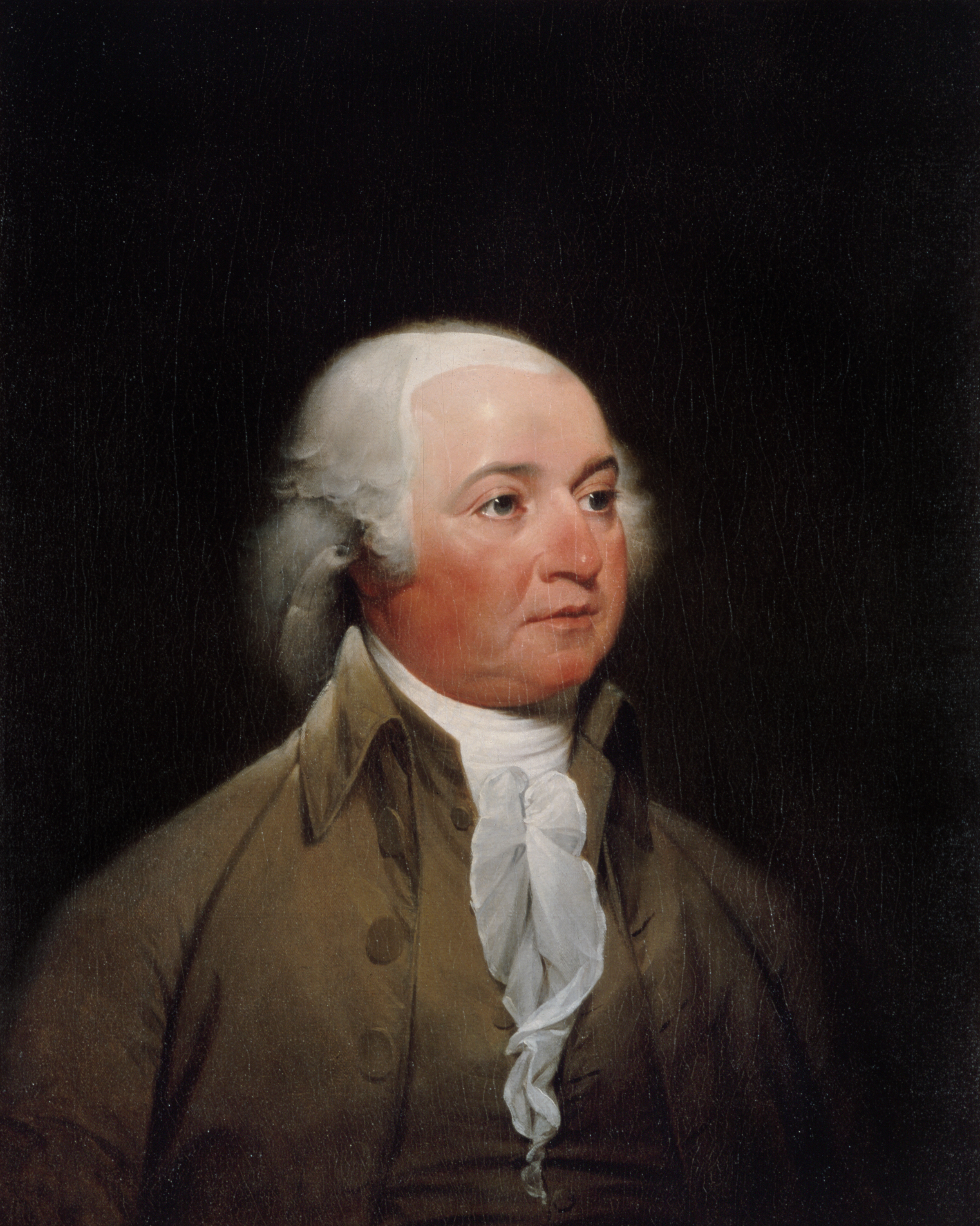 John Adams, by By John Trumbull, 1793. National Portrait Gallery, Smithsonian Institution
