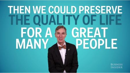 Bill Nye told Business Insider voters in 2016 can make a huge change, just voting for a president who will work on climate change.
