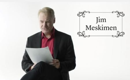 Jim Meskimen, reading in 27 different celebrity voices.