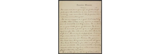 Nicolay copy of the Gettysburg Address; only pre-delivery, holographic copy of the address. Given to Lincoln's secretary, John George Nicolay.