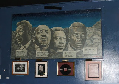 Mount Bluesmore, in the old Legends venue: Muddy Waters, Sonny Boy Williamson, Little Walter, and Howlin' Wolf.