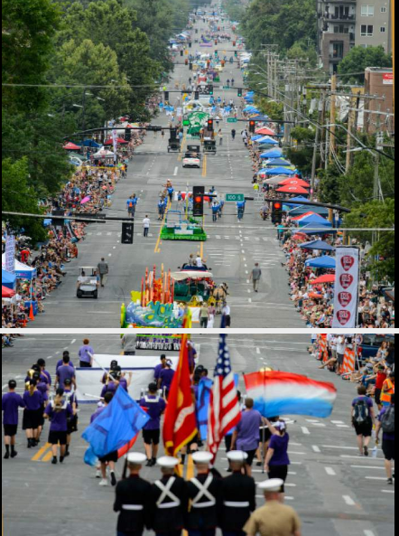 Days of '47 Parade in SLC, 2017
